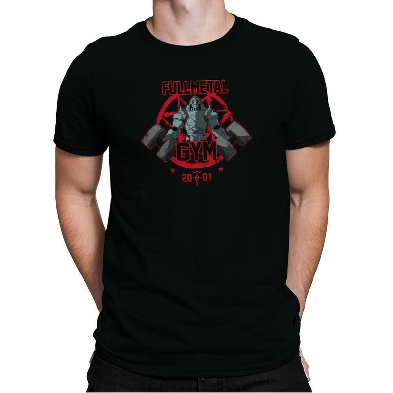 Fullmetal Gym Exclusive - Anime History Lesson - Mens Premium - T-Shirts - RIPT Apparel