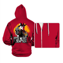 Red Merc Redemption II - Hoodies - Hoodies - RIPT Apparel