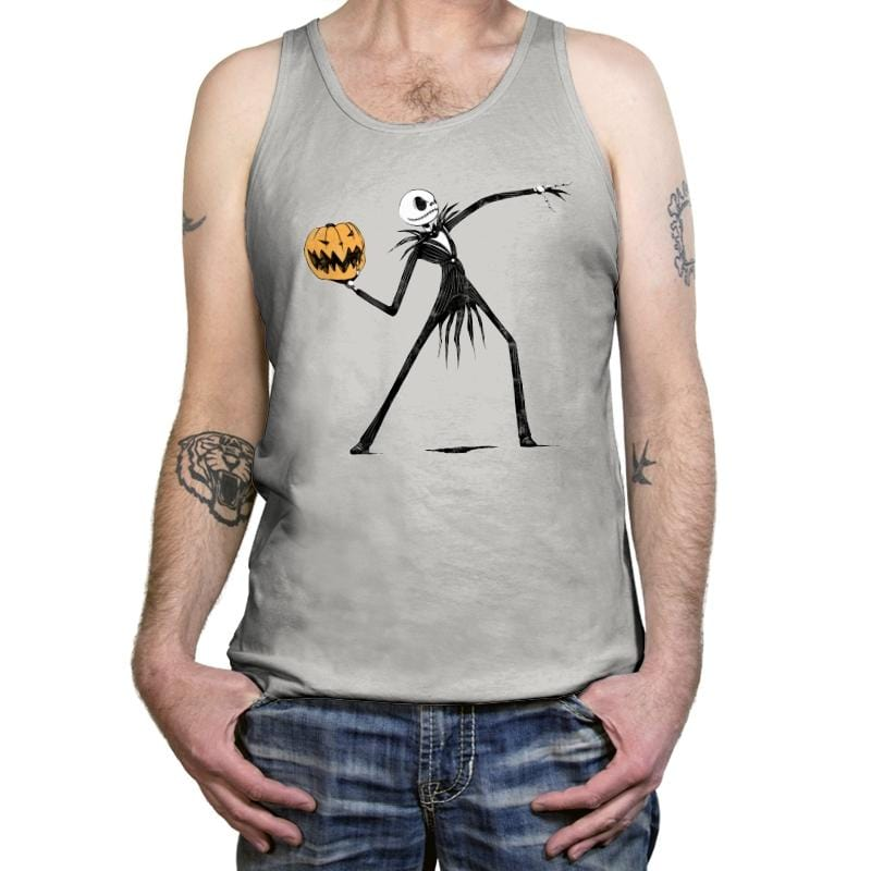 Pumpkin Thrower - Tanktop - Tanktop - RIPT Apparel