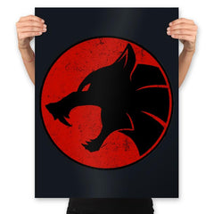 Thunderwolves - Prints - Posters - RIPT Apparel