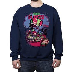 Doom Flakes - Crew Neck Sweatshirt - Crew Neck Sweatshirt - RIPT Apparel