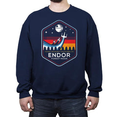 Battle of Endor - Crew Neck Sweatshirt - Crew Neck Sweatshirt - RIPT Apparel