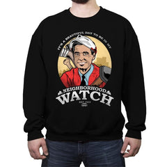 Neighborhood Watch - Crew Neck Sweatshirt - Crew Neck Sweatshirt - RIPT Apparel