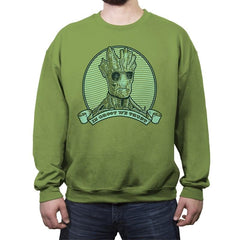 In Groot We Trust - Crew Neck Sweatshirt - Crew Neck Sweatshirt - RIPT Apparel