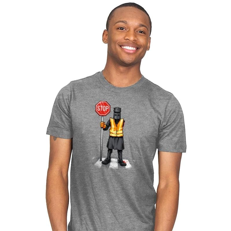 The Crossing Knight - Mens - T-Shirts - RIPT Apparel