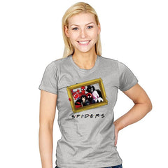 Spider Firends - Womens - T-Shirts - RIPT Apparel