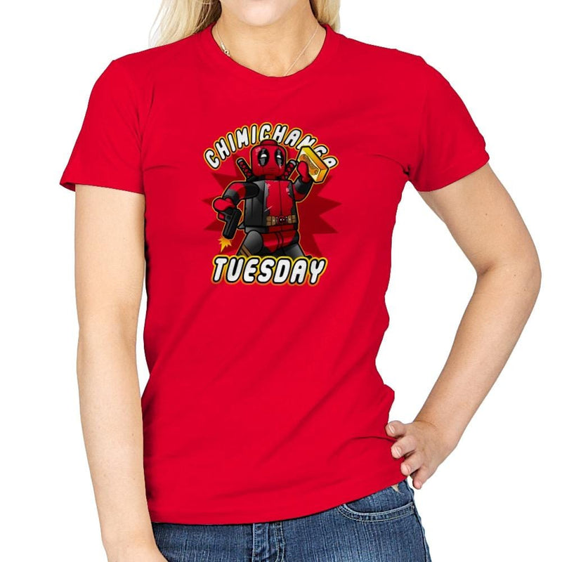 Chimichanga Tuesday Exclusive - Womens - T-Shirts - RIPT Apparel