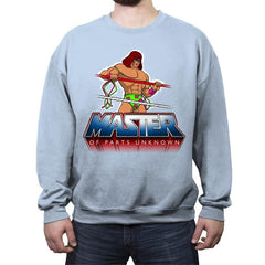 Master of Parts Unknown - Crew Neck Sweatshirt - Crew Neck Sweatshirt - RIPT Apparel