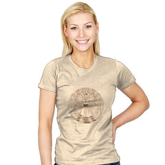 Dr. Vitruvian - Womens - T-Shirts - RIPT Apparel