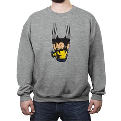 nice claws - Crew Neck Sweatshirt - Crew Neck Sweatshirt - RIPT Apparel