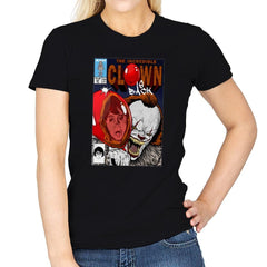 The Incredible Clown - Womens - T-Shirts - RIPT Apparel