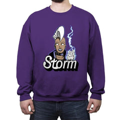 Stormie - Crew Neck Sweatshirt - Crew Neck Sweatshirt - RIPT Apparel