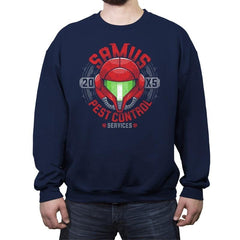 Pest Control Services - Crew Neck Sweatshirt - Crew Neck Sweatshirt - RIPT Apparel