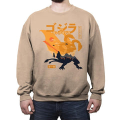 King of the Monsters Vol.1 - Crew Neck Sweatshirt - Crew Neck Sweatshirt - RIPT Apparel