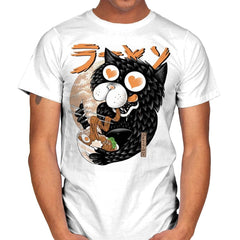 Cat Love Ramen - Mens - T-Shirts - RIPT Apparel