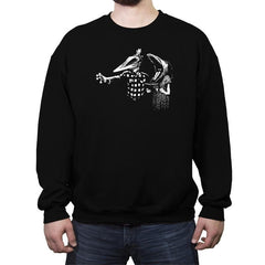 Ghost Fiction - Crew Neck Sweatshirt - Crew Neck Sweatshirt - RIPT Apparel