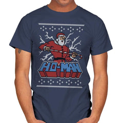 Ho-Man! - Ugly Holiday - Mens - T-Shirts - RIPT Apparel