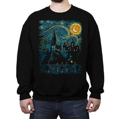 Starry School - Crew Neck Sweatshirt - Crew Neck Sweatshirt - RIPT Apparel