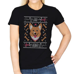 See you space cowdog... - Ugly Holiday - Womens - T-Shirts - RIPT Apparel