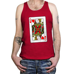Queen Card - Tanktop - Tanktop - RIPT Apparel