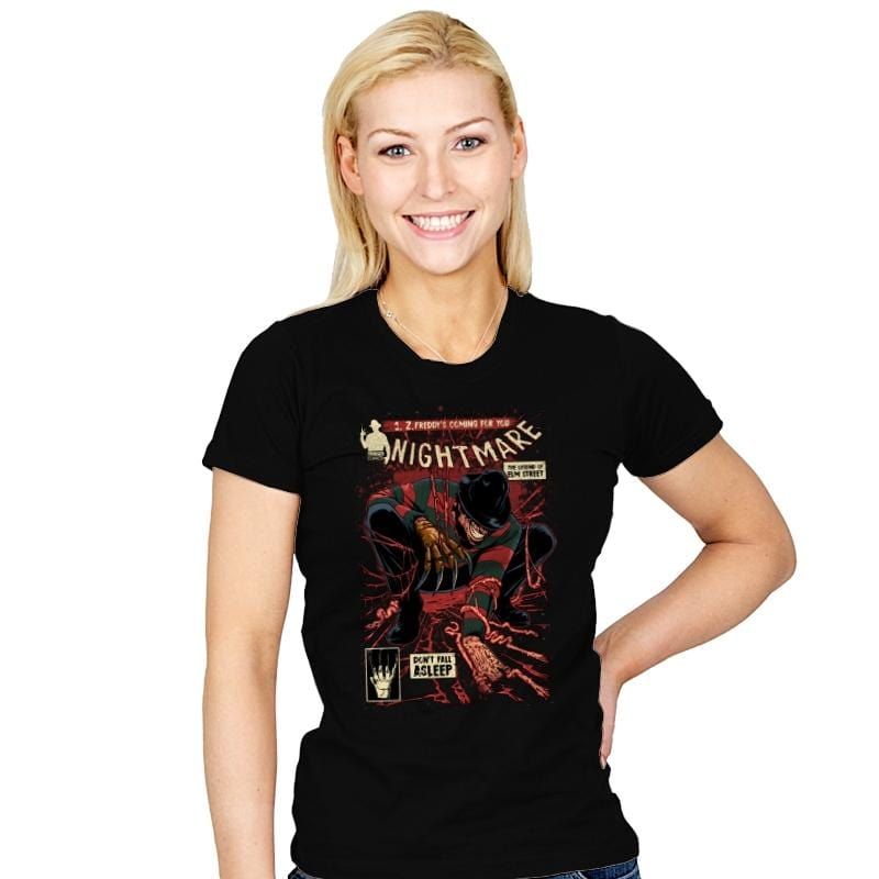 Nightmare - Best Seller - Womens - T-Shirts - RIPT Apparel