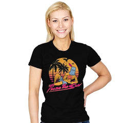 Praise the Summer - Womens - T-Shirts - RIPT Apparel