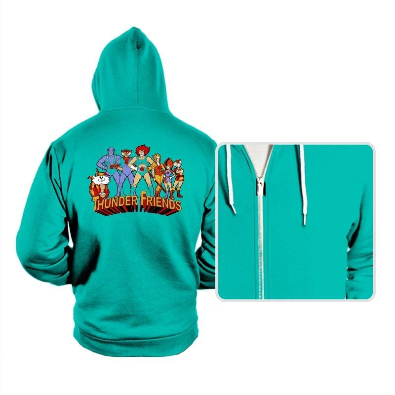 Thunder Friends - Hoodies - Hoodies - RIPT Apparel