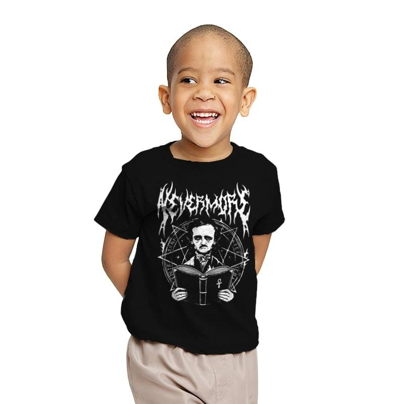 Rocking Nevermore - Youth - T-Shirts - RIPT Apparel