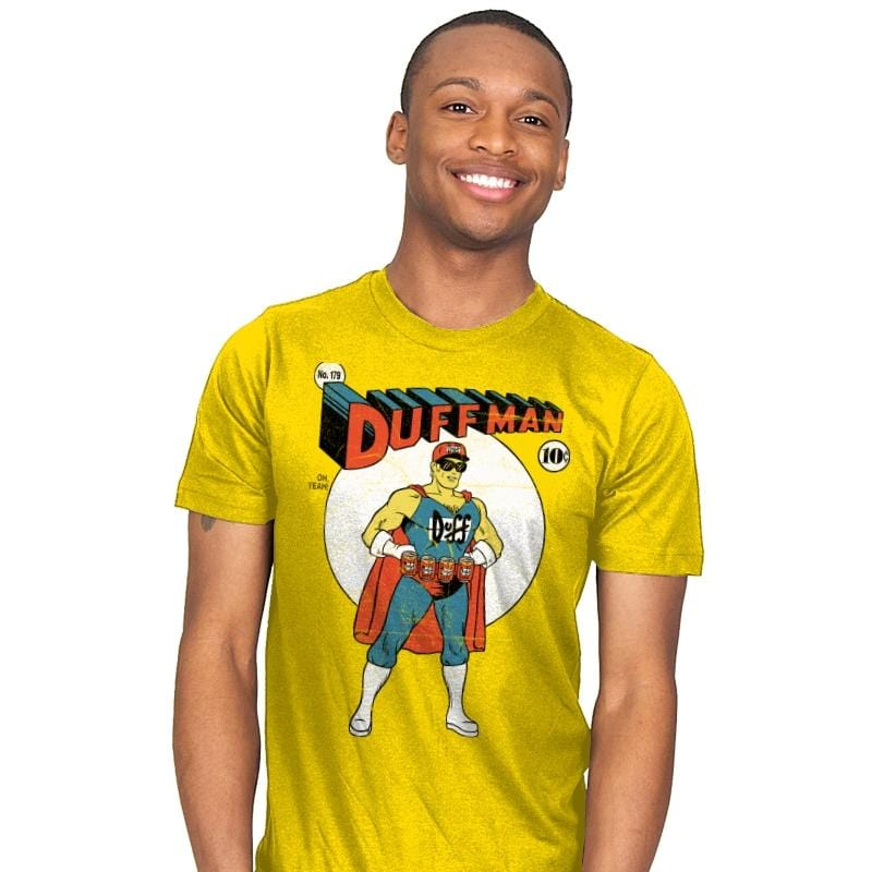 Duffman! - Mens - T-Shirts - RIPT Apparel