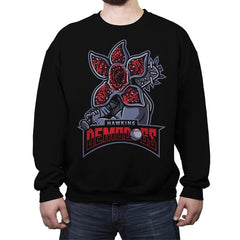 Hawkins Demodogs - Crew Neck Sweatshirt - Crew Neck Sweatshirt - RIPT Apparel
