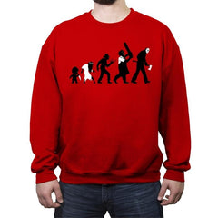 Theory Of Evil - Crew Neck Sweatshirt - Crew Neck Sweatshirt - RIPT Apparel