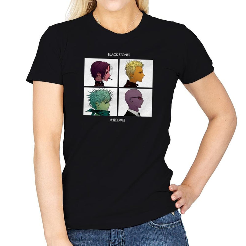 Demon Lord Days Exclusive - Anime History Lesson - Womens - T-Shirts - RIPT Apparel