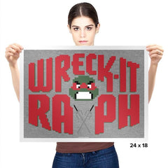 Wreck-It Raph Exclusive - Prints - Posters - RIPT Apparel