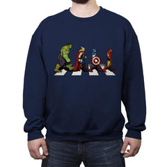 Avenger Road - Crew Neck Sweatshirt - Crew Neck Sweatshirt - RIPT Apparel