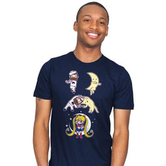 Sailor + Moon - Mens - T-Shirts - RIPT Apparel