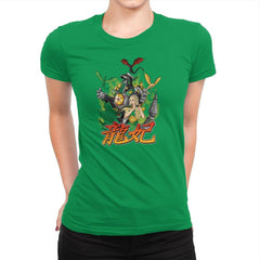 A Song of Zords and Fire Exclusive - Womens Premium - T-Shirts - RIPT Apparel
