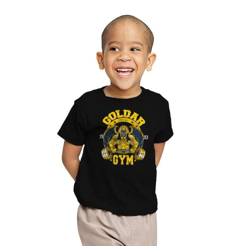 Goldar Gym - Youth - T-Shirts - RIPT Apparel