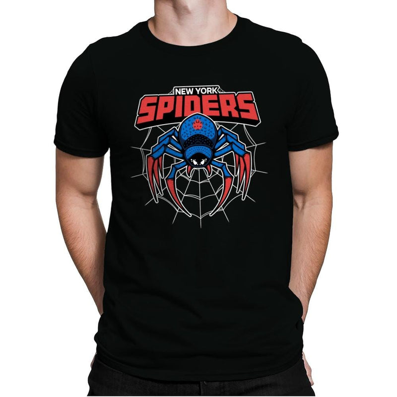 NY Spiders - Mens Premium - T-Shirts - RIPT Apparel