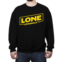 Lone - A Spaceball Story - Crew Neck Sweatshirt - Crew Neck Sweatshirt - RIPT Apparel