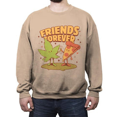 Cute Friends - Crew Neck Sweatshirt - Crew Neck Sweatshirt - RIPT Apparel
