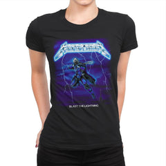 Blast The Lightning - Anytime - Womens Premium - T-Shirts - RIPT Apparel
