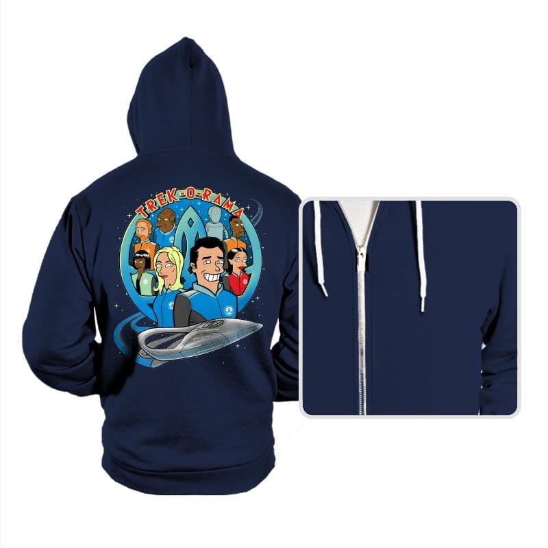 Trek-O-Rama - Hoodies - Hoodies - RIPT Apparel