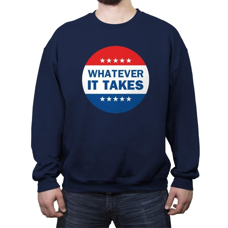 Vote-ver - Crew Neck Sweatshirt - Crew Neck Sweatshirt - RIPT Apparel