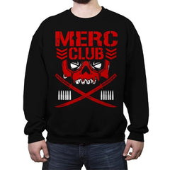 MERC CLUB - Crew Neck Sweatshirt - Crew Neck Sweatshirt - RIPT Apparel
