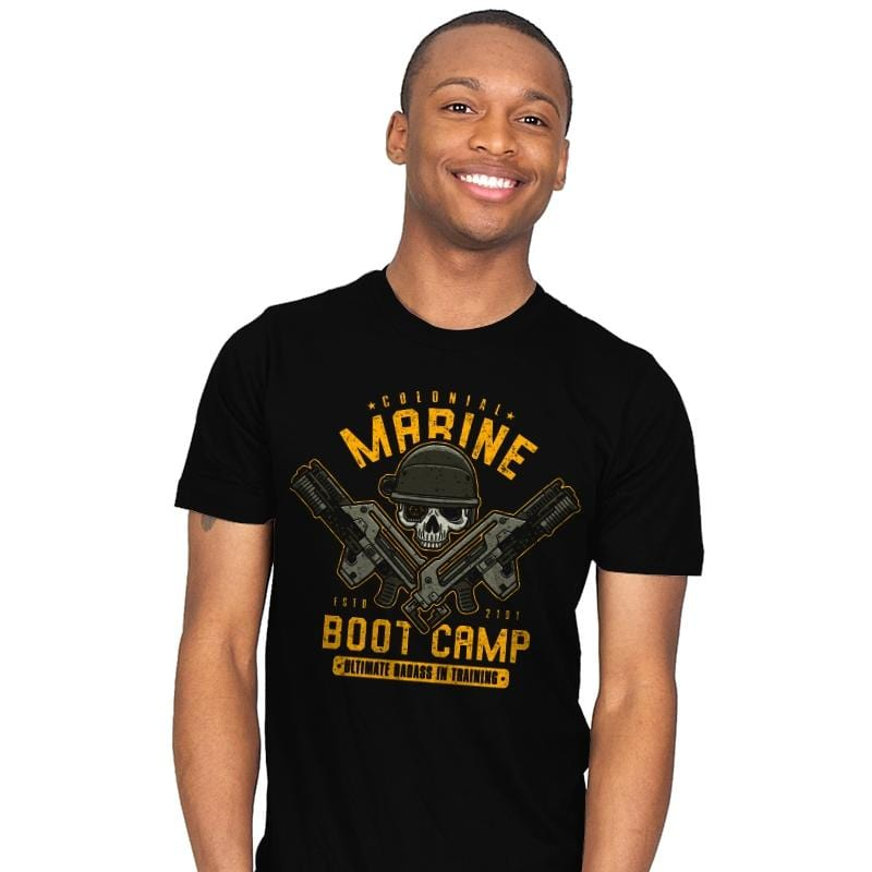 Colonial Marines Boot Camp - Mens - T-Shirts - RIPT Apparel