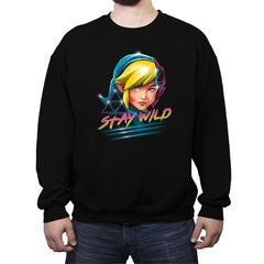 Stay Wild - Crew Neck Sweatshirt - Crew Neck Sweatshirt - RIPT Apparel