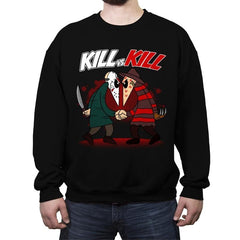 Kill VS Kill - Crew Neck Sweatshirt - Crew Neck Sweatshirt - RIPT Apparel
