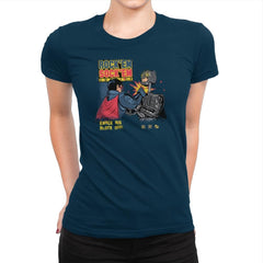 Rock 'em Sock 'em Justice Exclusive - Womens Premium - T-Shirts - RIPT Apparel