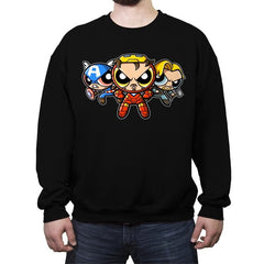 The Puffvengers - Crew Neck Sweatshirt - Crew Neck Sweatshirt - RIPT Apparel