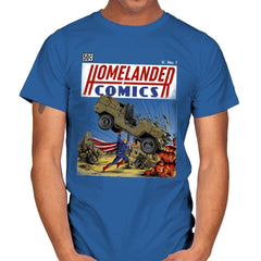 Laser Eyes Comics - Mens - T-Shirts - RIPT Apparel